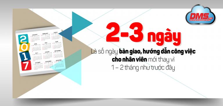 2-3-ngay-là-so-ngay-ban-giao-huong-dan-cong-viec-cho-nhan-vien-moi-he-thong-dms-mang-lai